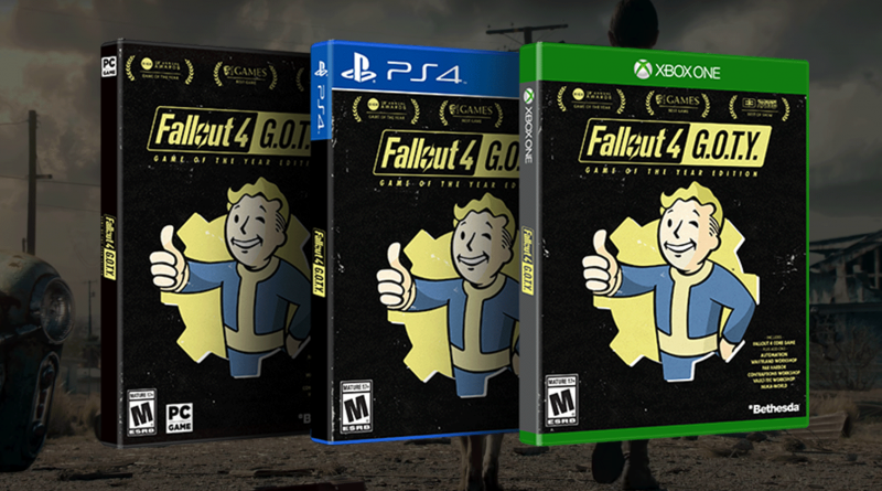 Состоялся релиз Fallout 4: Game of the Year Edition